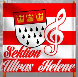 Köln Sektion Ultras Helene Doppelhalter