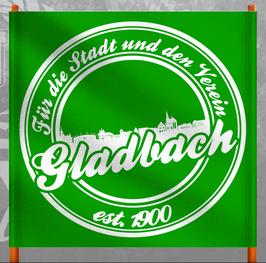 Gladbach für die Stadt und den Verein Doppelhalter