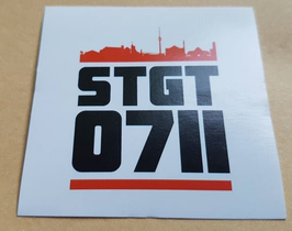 150 Stuttgart STGT 0711 Aufkleber