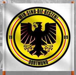 Dortmund wir sind die Besten Doppelhalter