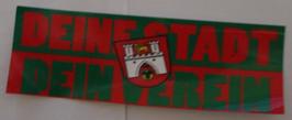 Hannover Deine Stadt Dein Verein Aufkleber