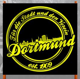 Dortmund für die Stadt und den Verein Doppelhalter