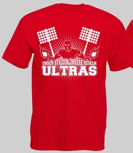 Unser Stadion Unsere Regeln Shirt ROT