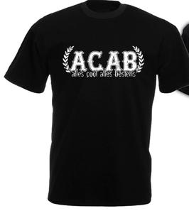 Alles Cool Alles Bestens Shirt Schwarz