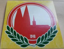 150 Köln Dom 1948 8x8 Aufkleber