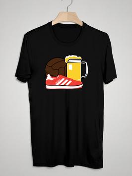 Basel Ball Bier Schuhe Shirt