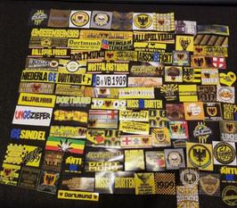 91er Dortmund Aufklebermix