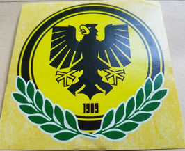 150 Dortmund Adler 1909 8x8 Gelb Aufkleber