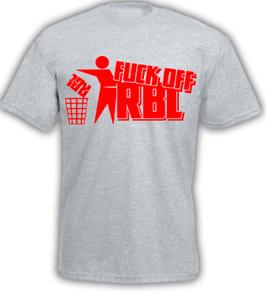 Anti RB Mülleimer Shirt Grau