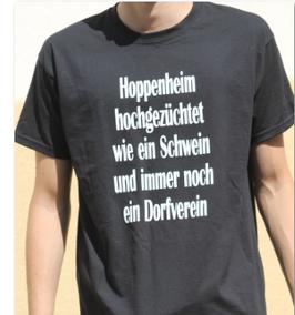 Hoppenheim hochgezüchtet Shirt Schwarz