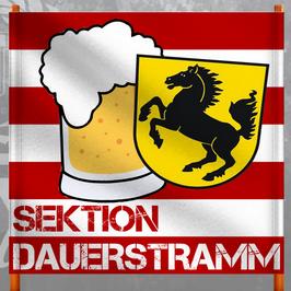 Stuttgart Sektion Dauerstramm Doppelhalter