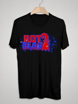Basel Rot Blau Shirt