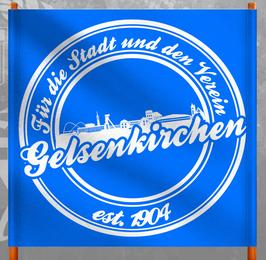 Gelsenkirchen für die Stadt und den Verein Doppelhalter