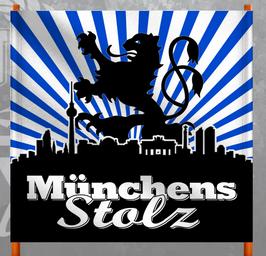München Blau Stolz Doppelhalter