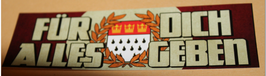 150 Aufkleber Köln alles geben