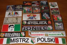 Legia Warschau Szeneklebermix 980
