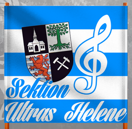 Gelsenkirchen Sektion Ultras Helene Doppelhalter