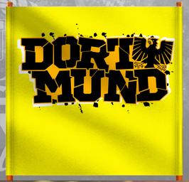 Dortmund mit Adler gelber Doppelhalter