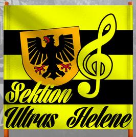 Dortmund Sektion Ultras Helene Doppelhalter