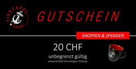 Geschenk-Gutschein (20 CHF/EUR)