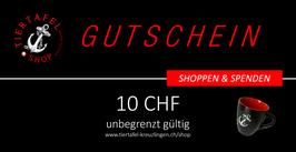 Geschenk-Gutschein (10 CHF/EUR)