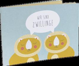 """""""Wir sind Zwillinge"""" Büchlein von Ava & Yves"""