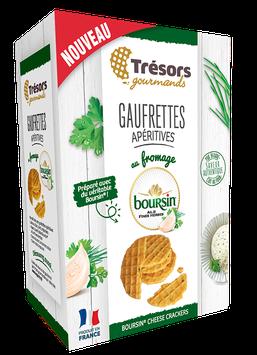 Gaufrettes Apéritives Fromage Boursin® Ail & Fines Herbes