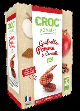 CROC' POMMES CANNELLE BIO 40g
