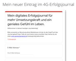 Digitales Erfolgsjournal X für höhere Wirksamkeit und Macherkraft