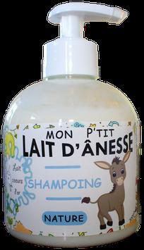 Mon p'tit shampoing au LAIT D'ÂNESSE - Nature