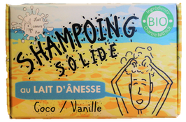 Shampoing solide - Coco / Vanille