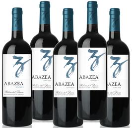 Vino Abazea, 10 meses, 2012 (caja de 12 botellas)