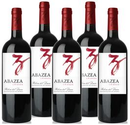 Vino Abazea, Crianza, 2010 (caja de 6 botellas)