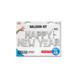 "PHRASE en Ballons ""HAPPY NEW YEAR"" (A gonfler)"