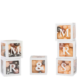 Set de 6 Cubes MR & MRS