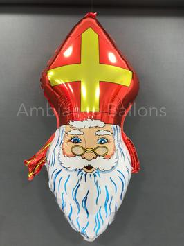 """Ballon """"Saint Nicolas"""" gonflé à l'hélium"""