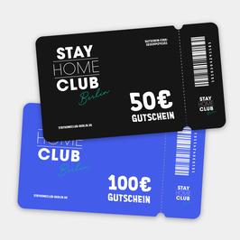Stay Home Club Gutschein 50€