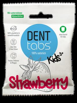 DENTTABS - Strawberry kids ohne Fluorid