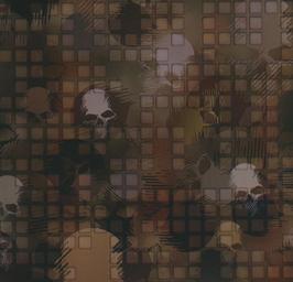 Digital skull camo