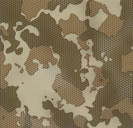Desert Camo Honeycomb