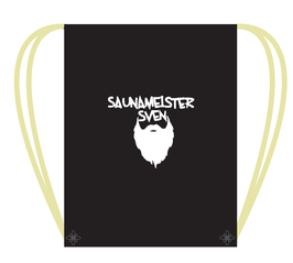 """Sack des Saunameisters"" - Sportbeutel Saunameister Sven"