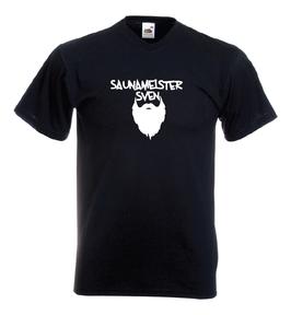 T-Shirt Saunameister Sven