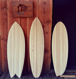 PLANCHE DE SURF 5' (A partir  1,5m et jusqu'à 2 m de Longueur  x 0,45m de Largeur)