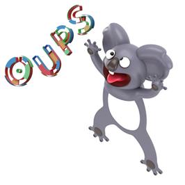 MARQUE-PAGE 3D OUPS - KOALA