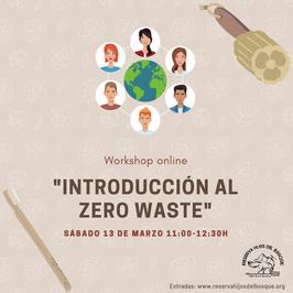 """Workshop """"Introducción al Zerowaste"""" (online)"""