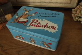 アンティーク缶 Patachou