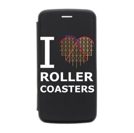 """Klapp-Hülle """"I ♡ Roller Coasters"""""""