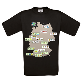 "T-Shirt ""Park-Chat"" (schwarz)"