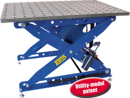 3D-welding table flex SST 65-105/35S off stainless steel