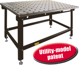 3D-welding table fix SST 80/35S off hardened